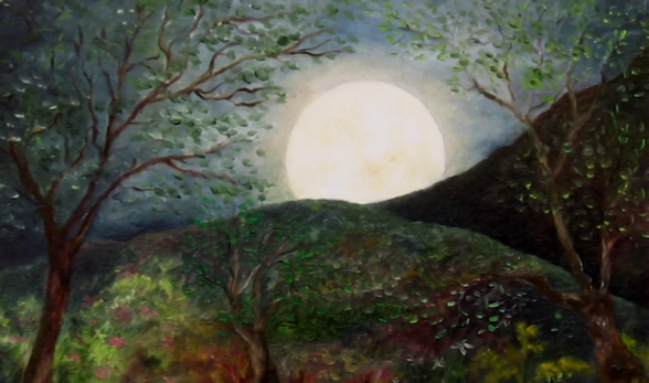 Rose Moon, by F.T. McKinstry