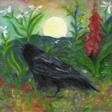 Summer Moon Raven, by F.T. McKinstry