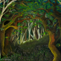 Hobbit Woods, by F.T. McKinstry