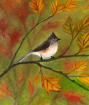 Tufted Titmouse, by F.T. McKinstry