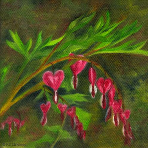 Bleeding Hearts, by F.T. McKinstry