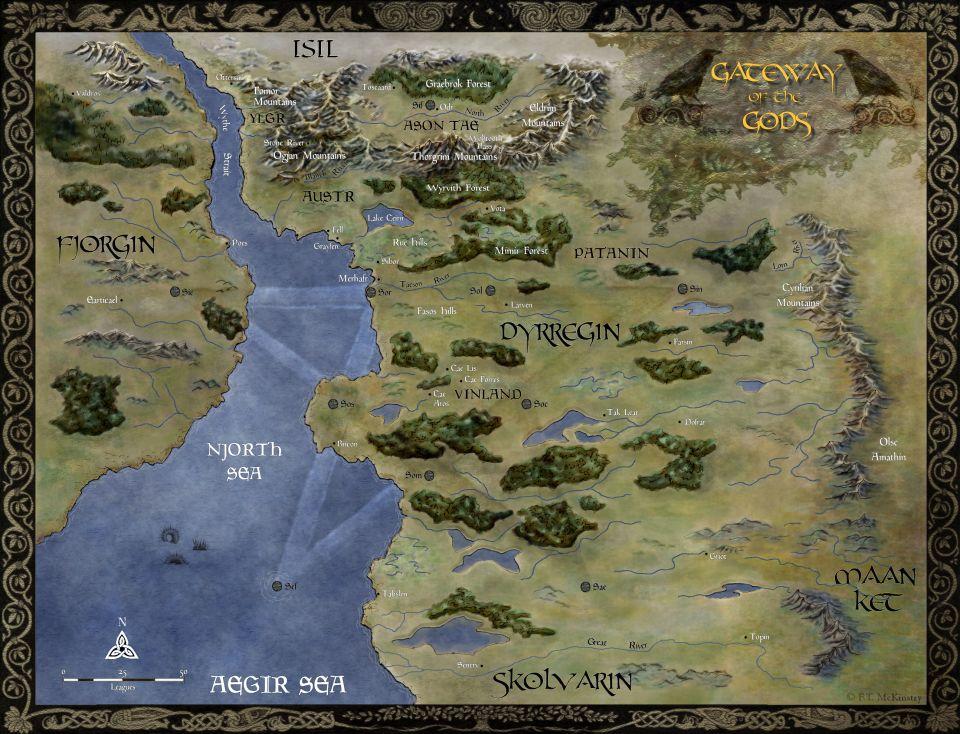 Outpost: Map of Dyrregin