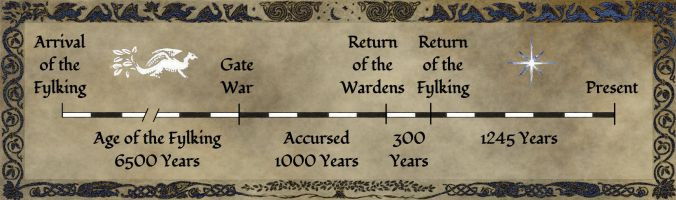 The Ages of Dyrregin