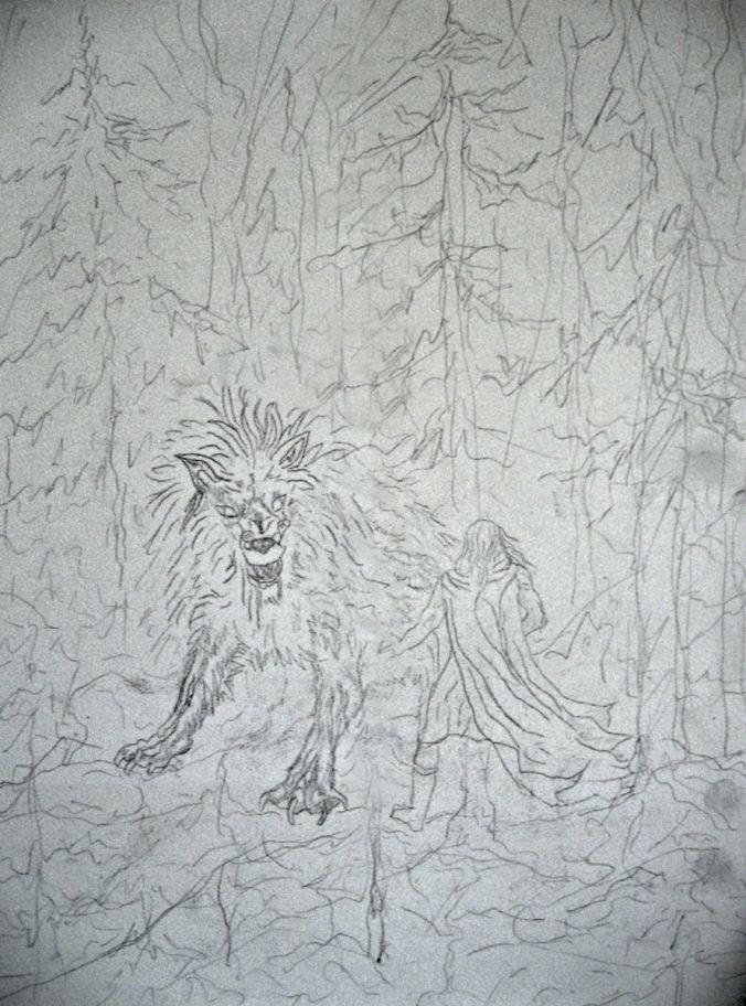 Leo Sketch